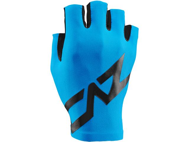 Supacaz SupaG Krótkie rękawiczki rowerowe, czarny/niebieski